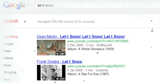 google-let-it-snow