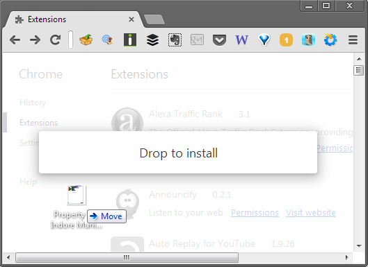 Download Chrome Extensions and Install Separately