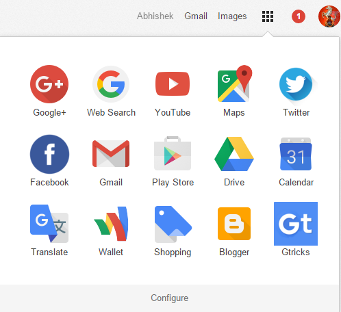 5 icons wide app launcher