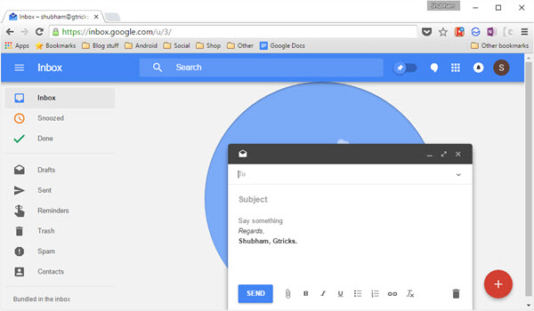 How to Add Rich Text Email Signatures on Google Inbox