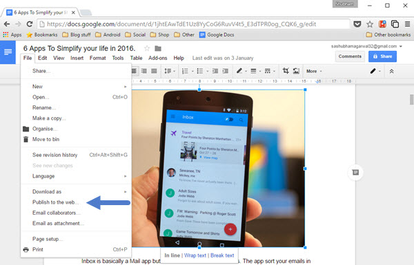 how to save pdf from google doc