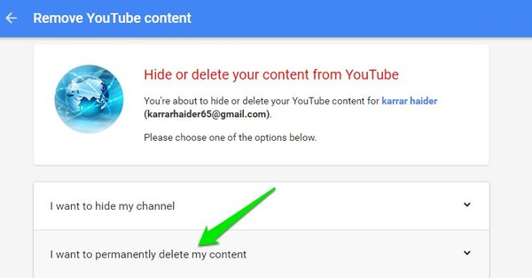 Hide-or-Delete-YouTube-Channel-permanentely-delete-account