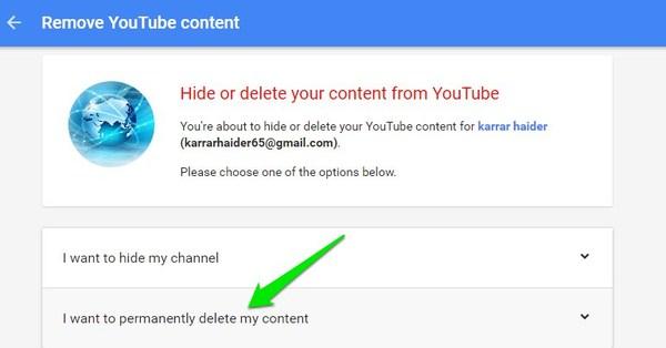 Hide-or-Delete-YouTube-Channel-permanentely-delete-account