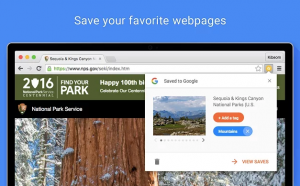 save to google:save your favourite webpages