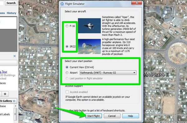 google-earth-tips-configure-simulator