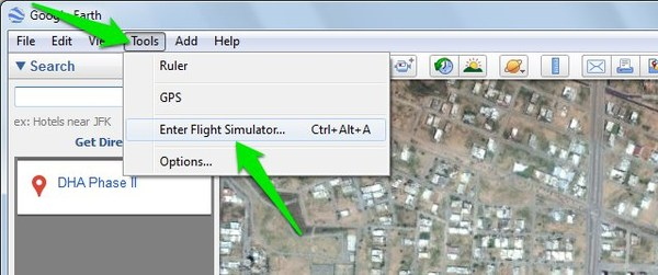 google-earth-tips-flight-simulator