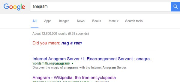 google-search-tricks-anagram