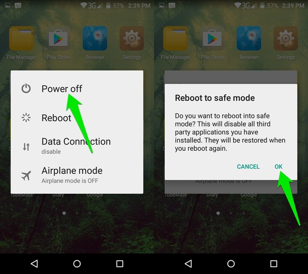 how to delete apps off android phone