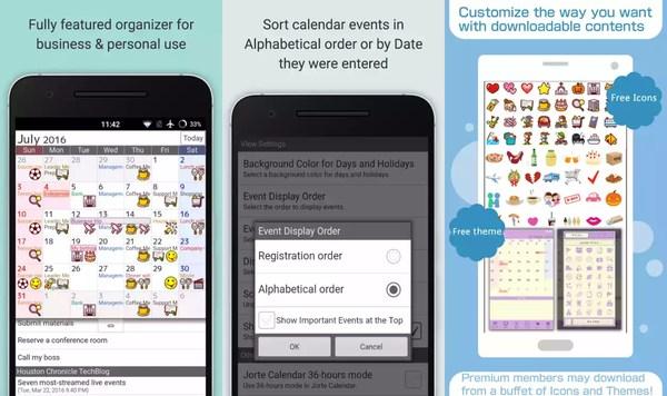 free-android-calendar-apps-jorte-calendar