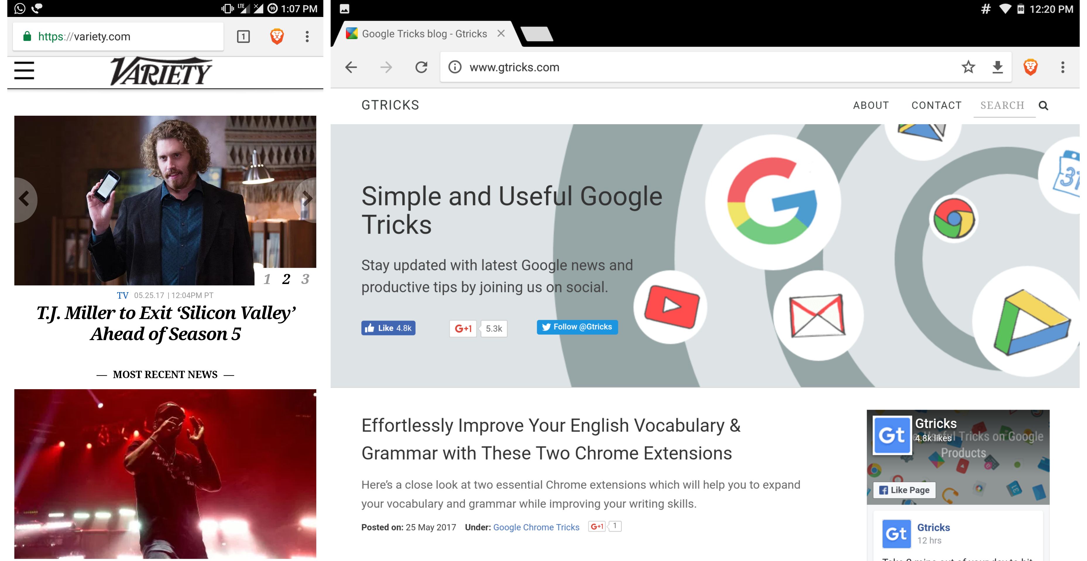 Fast Chrome Based Browsers with Built-In Ad Blocking