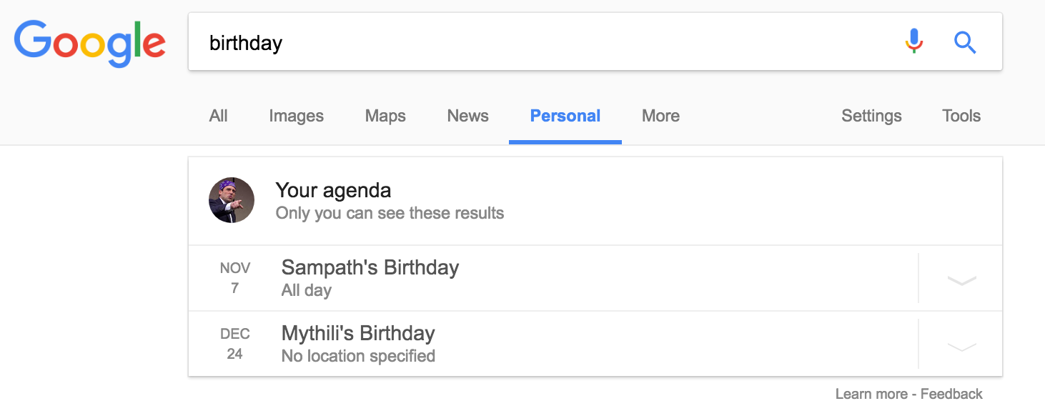 Now Quickly Access Your Personal Information from Google ...