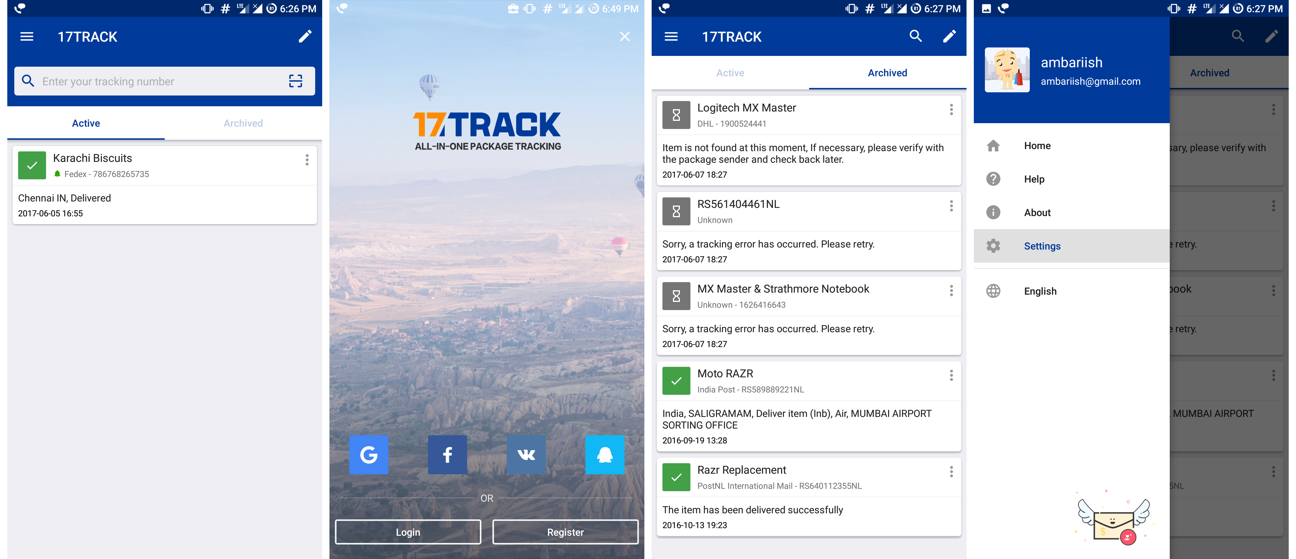 Best App For Tracking Packages & Shipments
