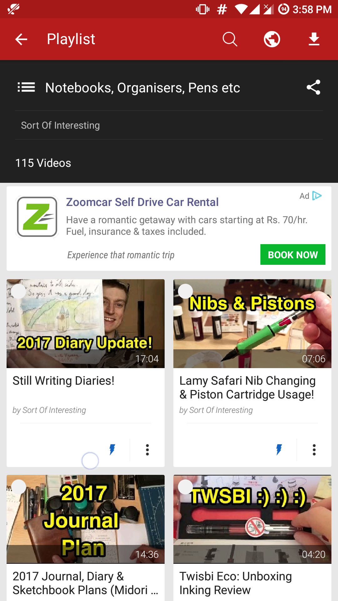 Download Entire YouTube Playlists on Android for Offline Viewing