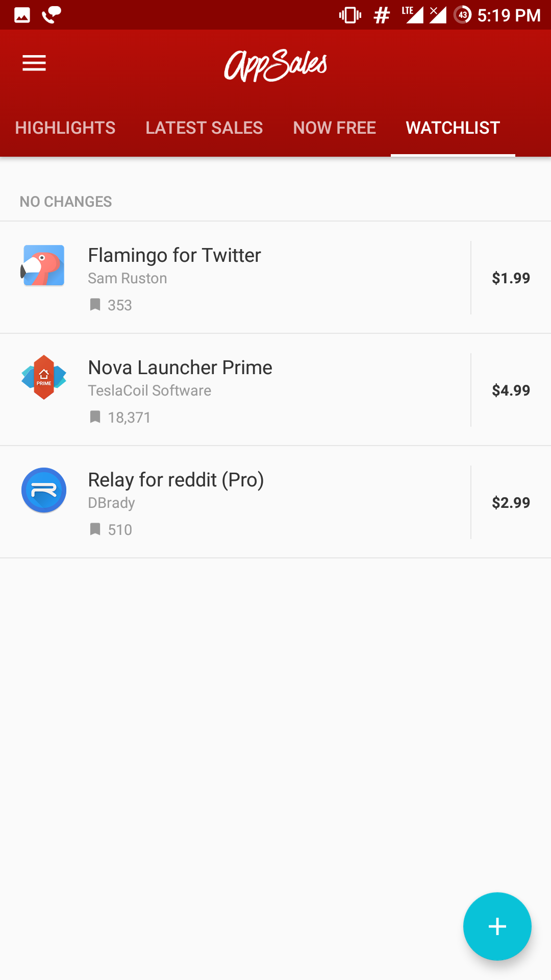 Track Price Drops & New Promotions of Your Favourite Android Apps