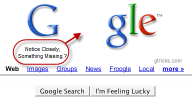 Google Magic 0 missing
