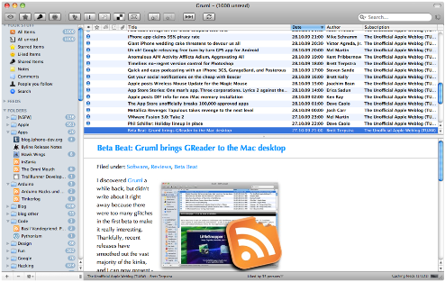 gruml-mac-Greader-app